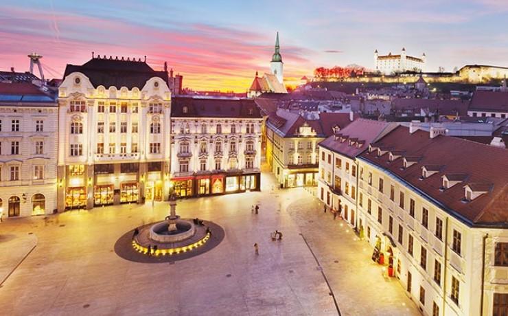 Navštívte Bratislavu